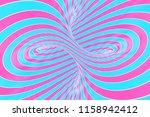 lollipop torus visual 3d... | Shutterstock . vector #1158942412