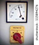 volt meter | Shutterstock . vector #115894276
