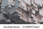 abstract 3d rendering of... | Shutterstock . vector #1158947662