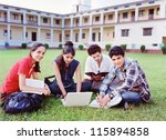 Group Of Indian   Asian Colleg...