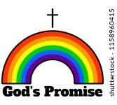 god's promise   a vector...   Shutterstock .eps vector #1158960415