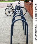 Bicycle On Bicycle Parking  ...