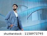 businessman style. men style....   Shutterstock . vector #1158973795