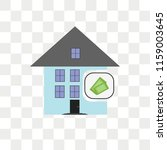 mortgage vector icon isolated... | Shutterstock .eps vector #1159003645