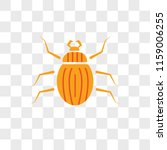 beetle vector icon isolated on... | Shutterstock .eps vector #1159006255