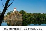 church in beauch  near leipzig  ... | Shutterstock . vector #1159007782