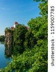 church in beauch  near leipzig  ... | Shutterstock . vector #1159007785