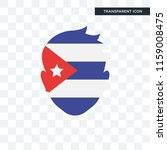 cuba vector icon isolated on... | Shutterstock .eps vector #1159008475
