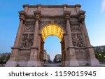 porte royale   triumphal arch... | Shutterstock . vector #1159015945