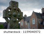 A High Cross With A Nimbus And...
