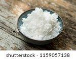 potassium hydroxide  koh  solid ... | Shutterstock . vector #1159057138