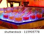 fruit juice in cocktail party   Shutterstock . vector #115905778