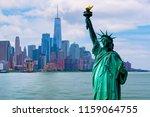 skyline cityscape  landmarks of ... | Shutterstock . vector #1159064755