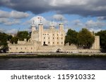 tower of london | Shutterstock . vector #115910332