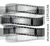 film roll background isolated... | Shutterstock . vector #115913146