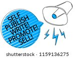 word writing text self publish... | Shutterstock . vector #1159136275