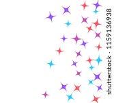 colorful stars confetti ... | Shutterstock .eps vector #1159136938