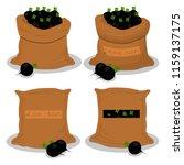 vector illustration for bags... | Shutterstock .eps vector #1159137175