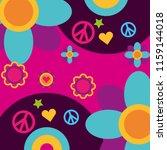 free spirit music vinyl disc... | Shutterstock .eps vector #1159144018