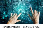 innovations systems connecting... | Shutterstock . vector #1159171732