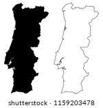 simple  only sharp corners  map ... | Shutterstock .eps vector #1159203478