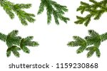 christmas  new year. set from... | Shutterstock .eps vector #1159230868
