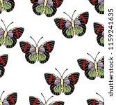 butterfly cartoon drawing...   Shutterstock .eps vector #1159241635