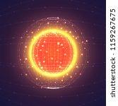 vector interstellar space...   Shutterstock .eps vector #1159267675