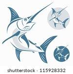 Marlin Fish   Vector...