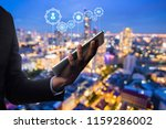 business and technology concept ...   Shutterstock . vector #1159286002