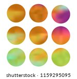 colorful circle gradient set... | Shutterstock .eps vector #1159295095