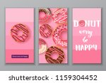 sweet banners with hand made... | Shutterstock .eps vector #1159304452
