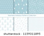 minimalist seamless holidays... | Shutterstock .eps vector #1159311895