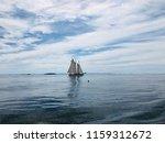 camden maine harbor sailboat | Shutterstock . vector #1159312672