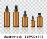 mock up realistic glossy amber... | Shutterstock .eps vector #1159336948