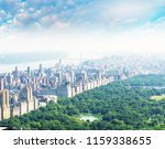 amazing aerial view of central... | Shutterstock . vector #1159338655