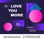 poster with minimal design.... | Shutterstock .eps vector #1159352185
