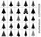 Christmas Tree Silhouette...