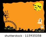 halloween | Shutterstock .eps vector #115935358