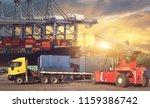 industrial logistics and...   Shutterstock . vector #1159386742