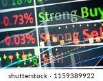 stock market graph chart. the...   Shutterstock . vector #1159389922
