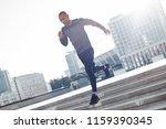 latin american athlete running... | Shutterstock . vector #1159390345