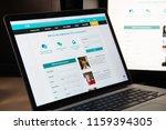 milan  italy   august 15  2018  ...   Shutterstock . vector #1159394305