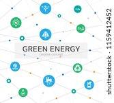 green energy infographic...
