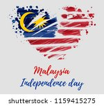 malaysia independence day...   Shutterstock .eps vector #1159415275