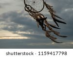 dream catcher on the sunset... | Shutterstock . vector #1159417798