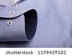 sleeve of a luxury shirt. close ... | Shutterstock . vector #1159429102