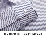 sleeve of a luxury shirt. close ... | Shutterstock . vector #1159429105