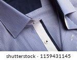classic men's shirt collar... | Shutterstock . vector #1159431145