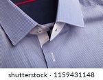 classic men's shirt collar...   Shutterstock . vector #1159431148